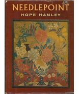 Needlepoint Book by Hope Hanley, 1964, wool silk - $7.82