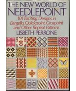 Needlepoint Book, New World  by Perrone, 101 De... - $7.82