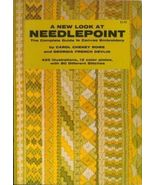 Needlepoint Book,  A New Look  by Rome and Devl... - $7.82