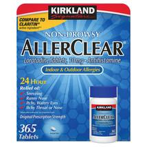 Kirkland Aller-Clear Non-Drowsy Allergy Loratadine 10mg 365 Tablets - Fr... - $15.35