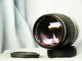 Pentax 135mm 2.8 Hoya Prime Portrait Lens - Nice- ME SUPER K1000 MX MG MV1  - $30.00