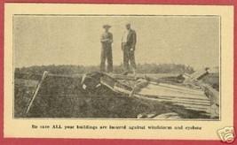 Lapeer Mi State Mutual Cyclone Insurance AD 1930 BJs - $8.00