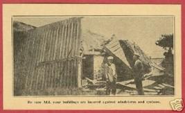 Lapeer Mi State Mutual Cyclone Insurance AD 1929 BJs - $8.00