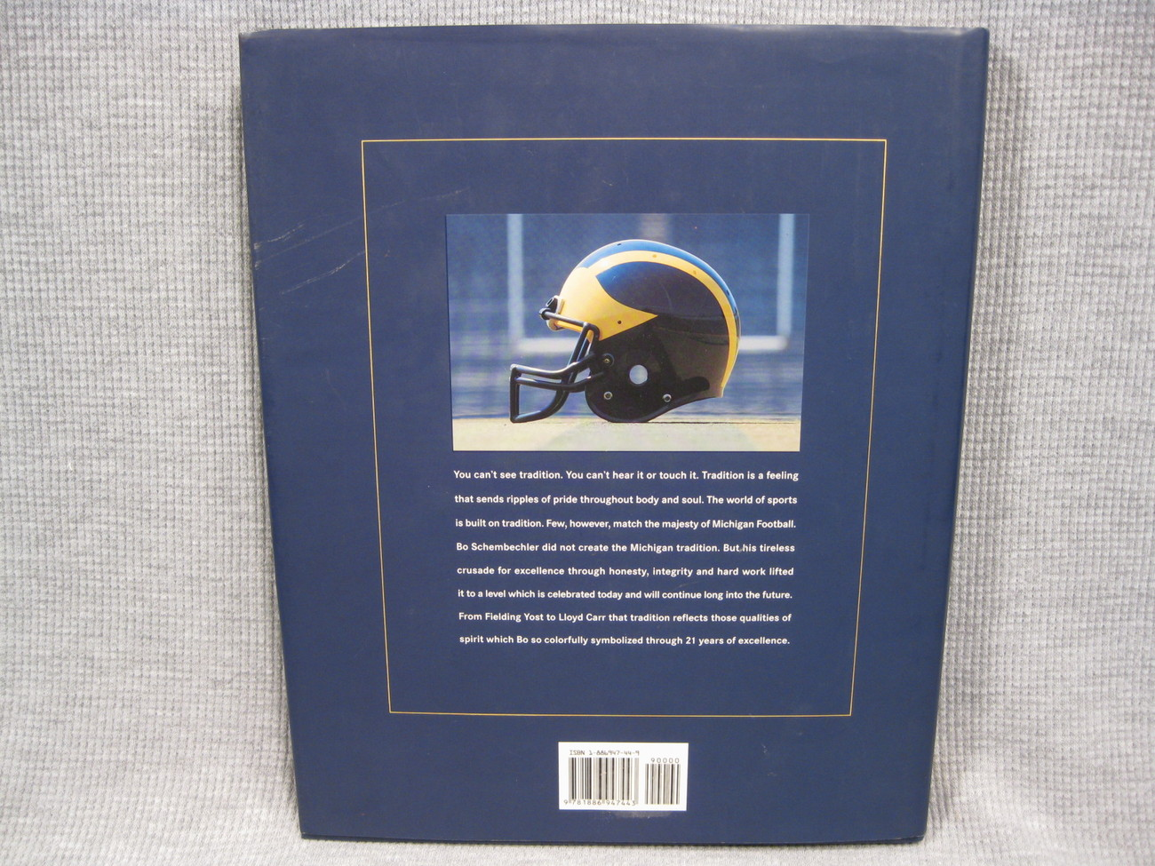 Michigan Memories Bo Schembechler's Football Scrapbook