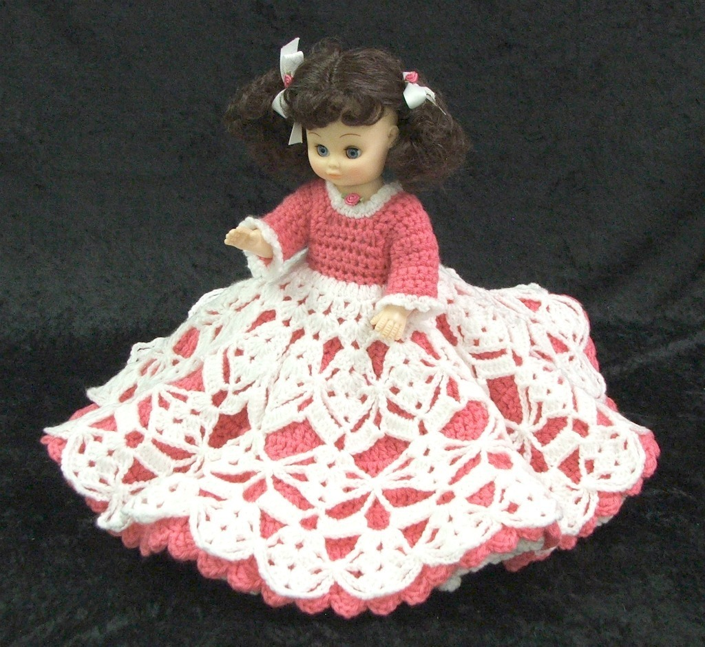 Crochet Doll Pattern SWEETHEART Series FAITH~HOPE~LOVE~CHARI