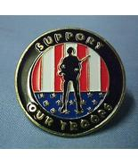 USA Support Our Troops Soldier Tribute Lapel Pi... - $6.97