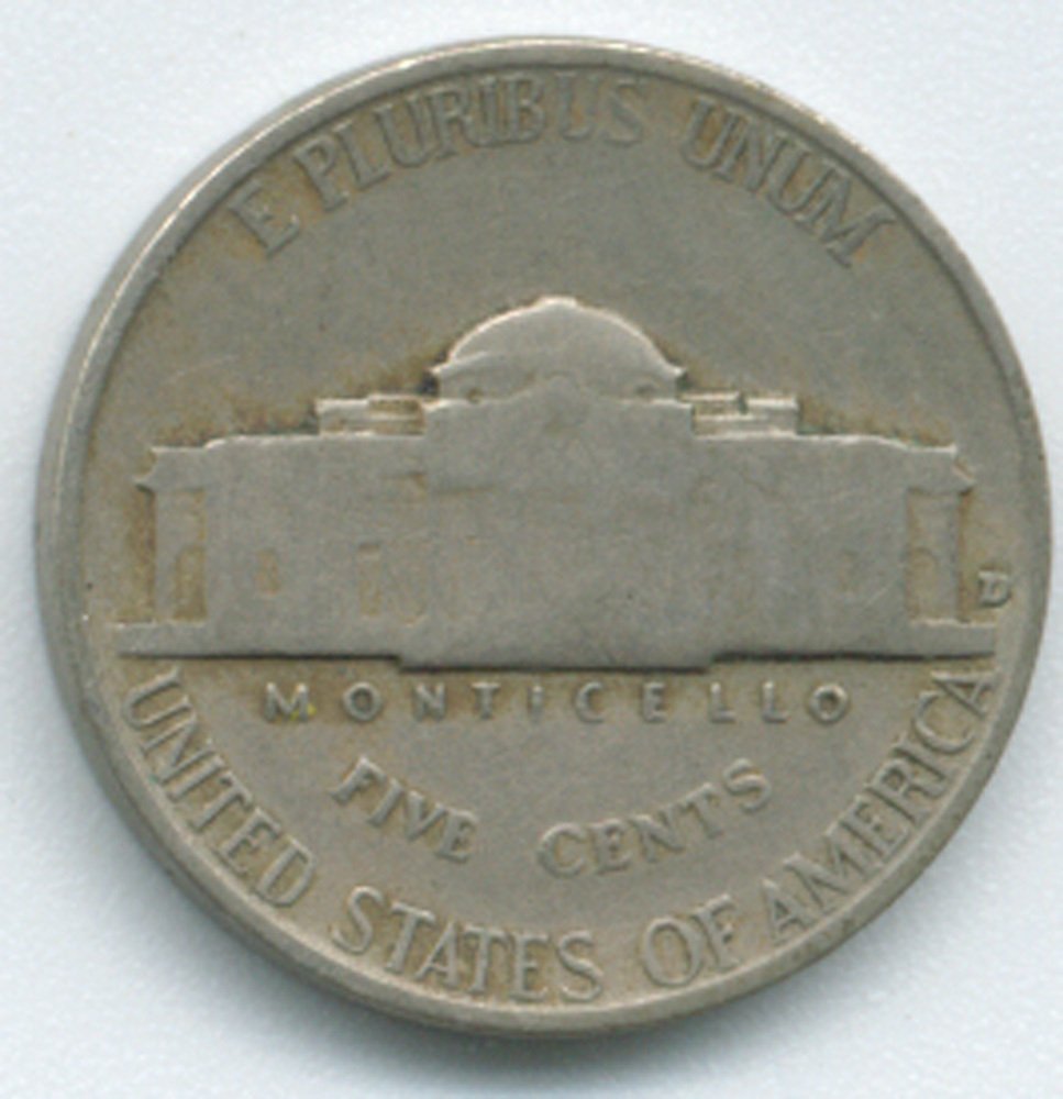 jefferson nickel Jefferson nickels from one of ohio's largest and oldest coin dealers satisfaction guaranteed.