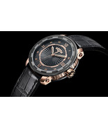 DeWitt Twenty-8-Eight 18K Rose Gold and PVD Titanium Auto. Limited Edition - $12,899.00