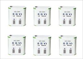 6 Batteries For Motorola With More Capacity 1650MAH 56315 HKNN4002 t5900 T5820 - $48.27