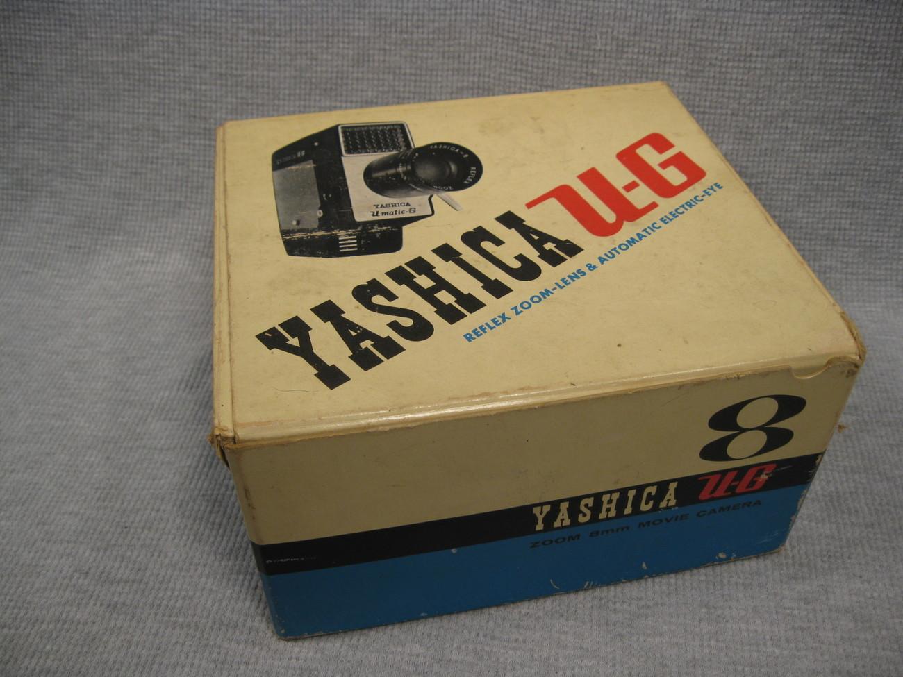 Vintage Yashica Zoom 8mm Movie Camera w/Original Box