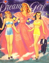 "1995 ""Dream Girls"" Paper Dolls Set, Mint, Uncut - $9.95"