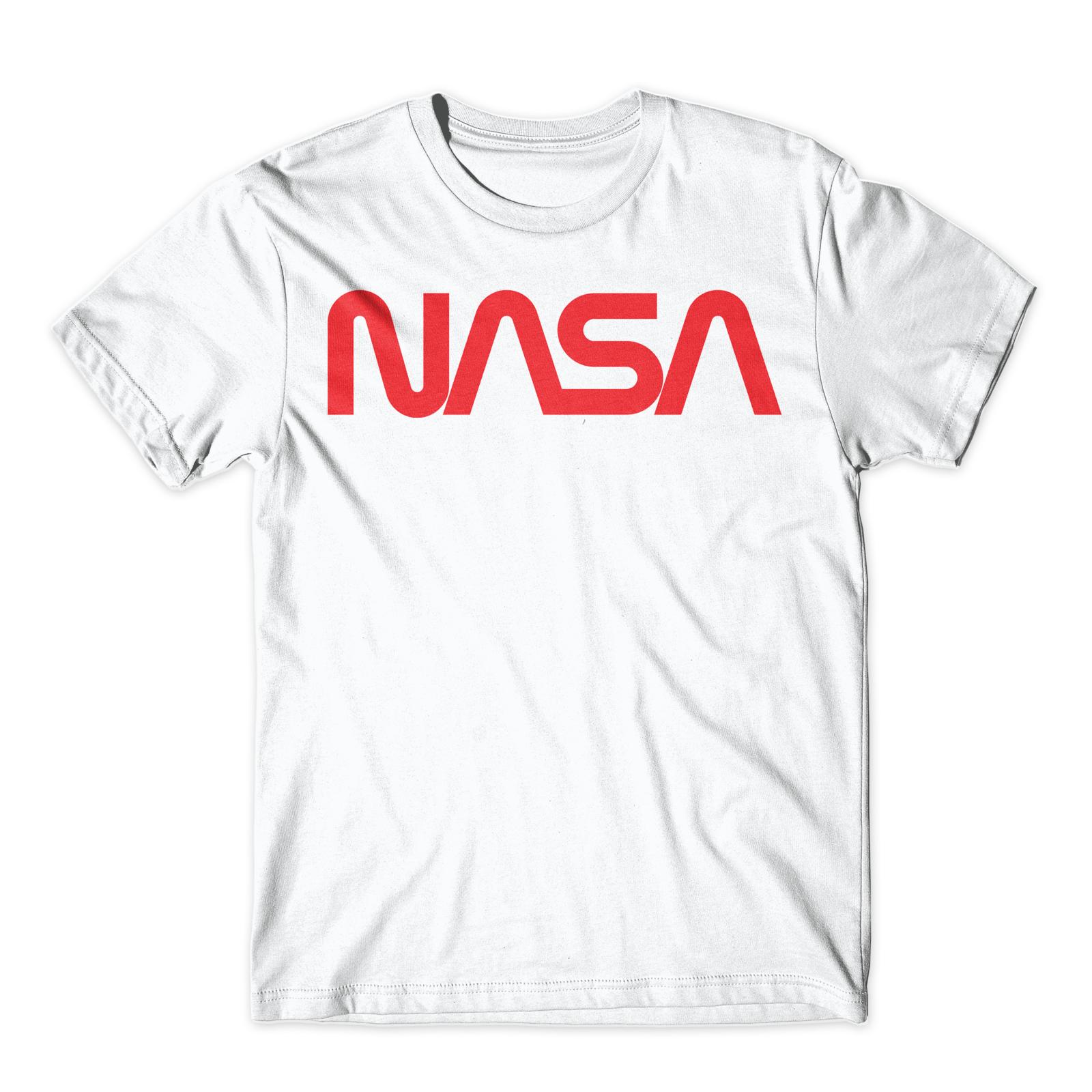 "Official NASA ""Worm"" Logotype Vintage Logo T-Shirt - T ..."