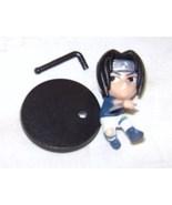 NARUTO SUPER DEFORMED SASUKE FIGURE WITH STAND CHIBI - $2.95