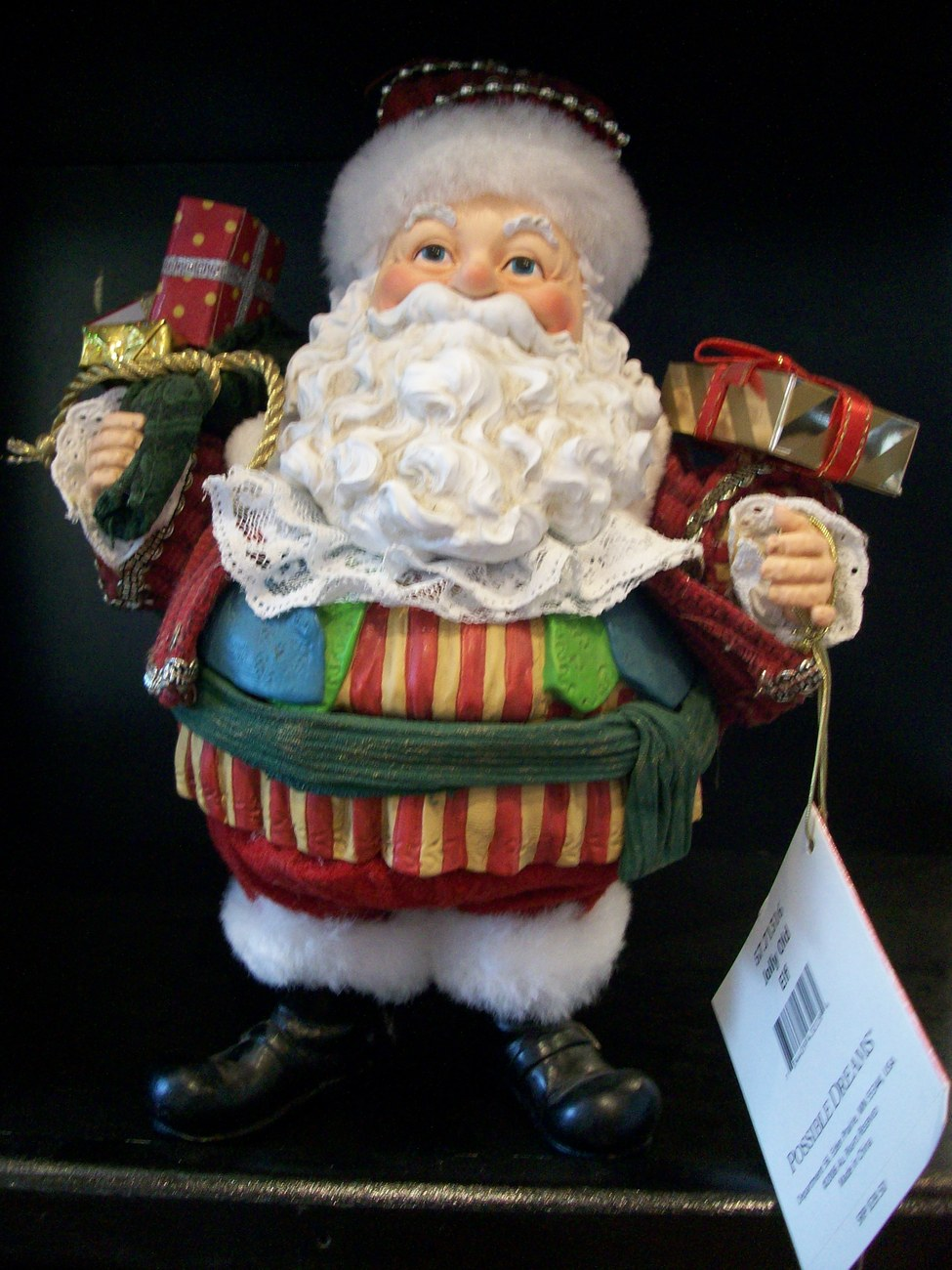 Possible Dreams Santa, Jolly Old Elf, New in Box