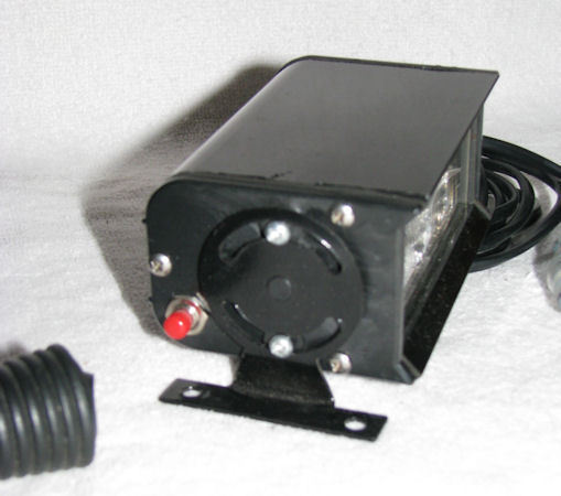 2 LED Emergency/Warning Strobes with Clear Lenses