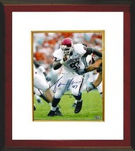 Tommie Harris signed Oklahoma Sooners Lombardi 03 8x10 Photo Custom Framed - $69.00