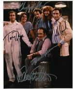 Taxi Cast Signed Photo Christopher Lloyd Tony Danza  Danny DeVito Hirsch... - $175.00