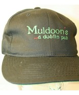 Muldoon's a dublin pub black green logo Dad Trucker snapback Hat Cap Yup... - $19.95