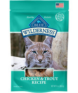 Blue Wilderness Chicken and Trout Cat Treats - 2 oz. - $5.99+