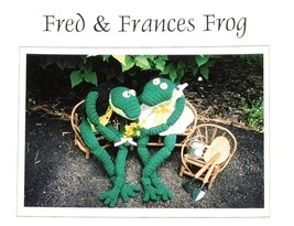 Crochet FROG Pattern! FRED & FRANCES FROG! Super-Cute! JAO - $4.99