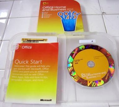 Microsoft Office 2010 Home and Business Full Retail Version
