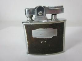 Ronson Standard Lighter Vintage Brown and Chrome  - $16.82
