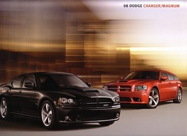 2008 Dodge CHARGER and MAGNUM brochure catalog 08 SRT8 HEMI - $9.00