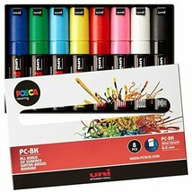 Mitsubishi Pencil Co., Ltd. aqueous pen Posuka bold Sumishin 8 colors PC... - $26.91