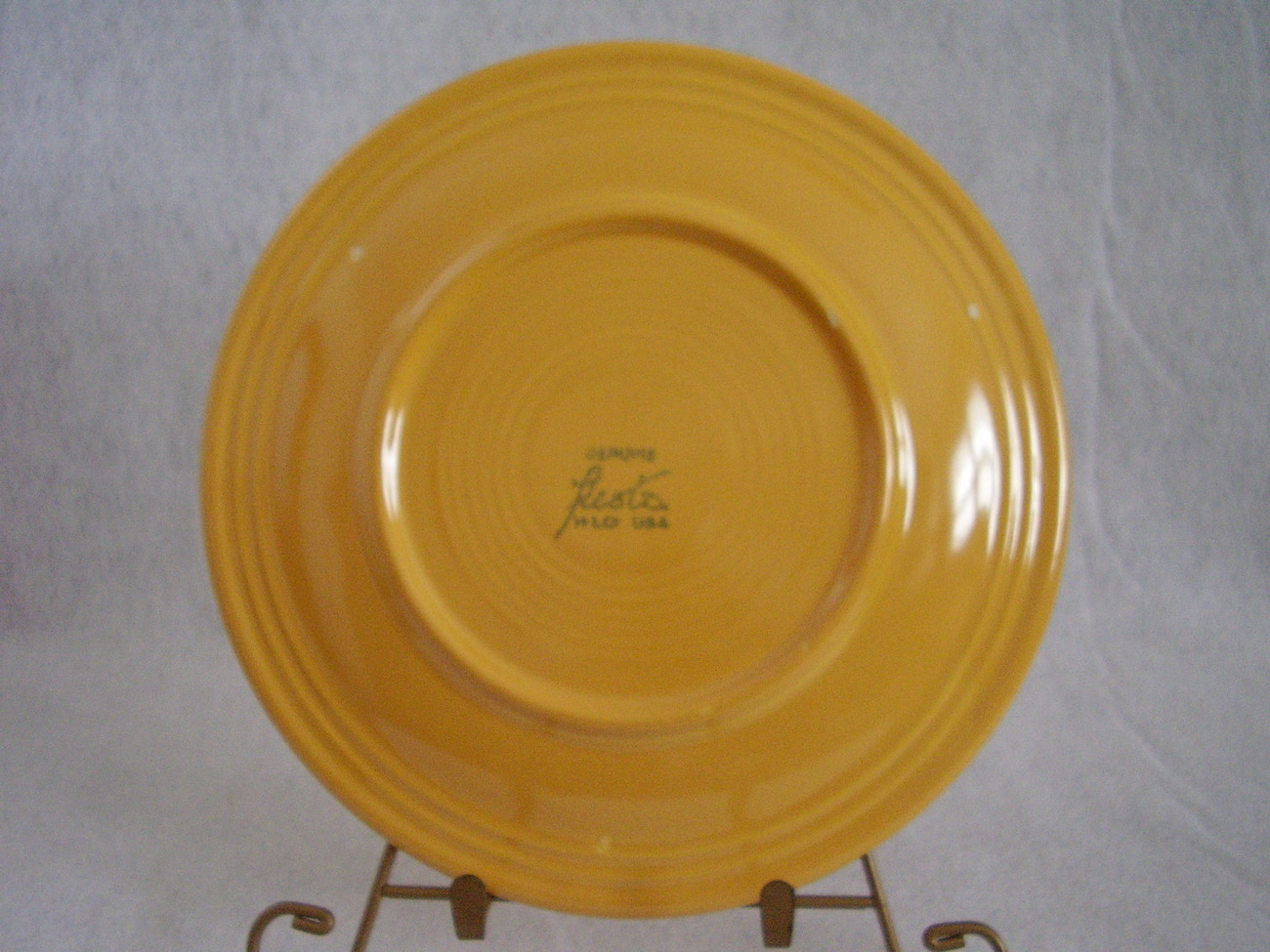 Vintage Fiestaware Yellow Lunch Plate Fiesta  D