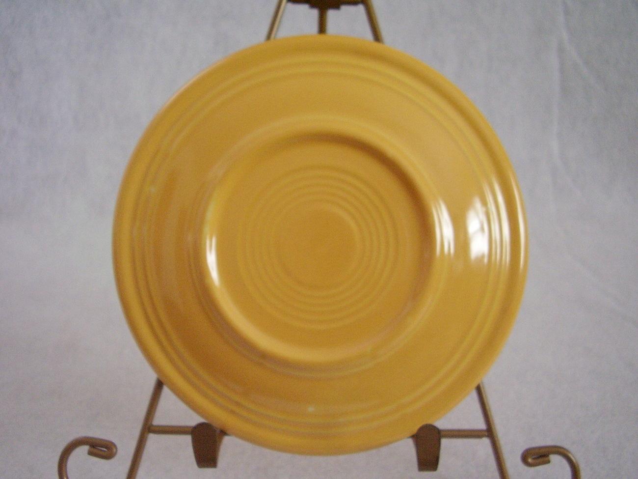 Vintage Fiestaware Yellow Bread Butter Plate Fiesta  C