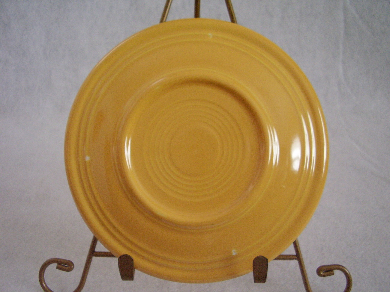Vintage Fiestaware Yellow Bread Butter Plate Fiesta  B