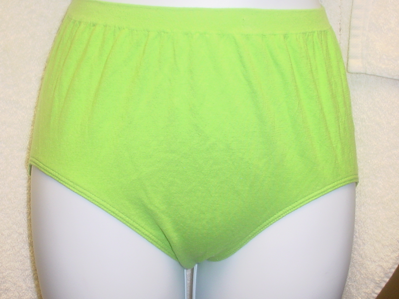 Jockey Seamfree Panty 6/Medium Green SP-Slightly Imperfect Lot of 3 NWOT