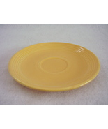 Vintage Fiestaware Yellow Teacup Saucer Fiesta  E - $6.40