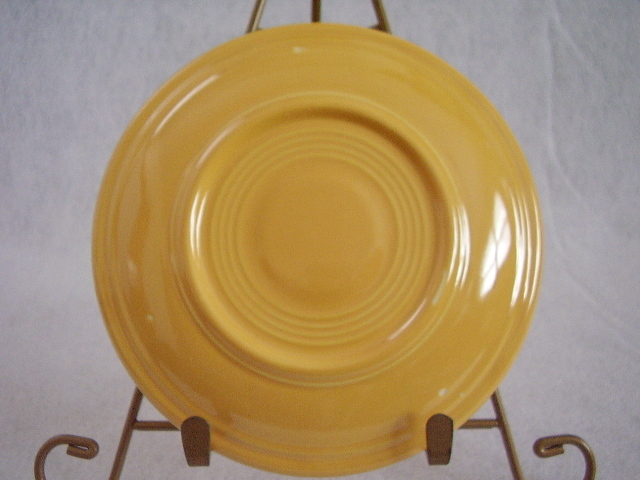 Vintage Fiestaware Yellow Teacup Saucer Fiesta  E