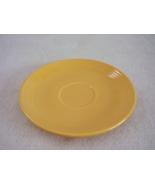 Vintage Fiestaware Yellow Teacup Saucer Fiesta  D - $6.40