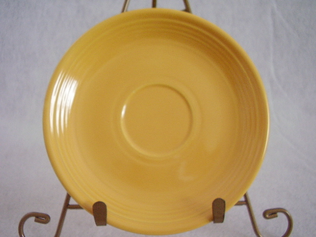 Vintage Fiestaware Yellow Teacup Saucer Fiesta  D