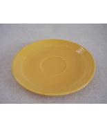 Vintage Fiestaware Yellow Teacup Saucer Fiesta  C - $6.40