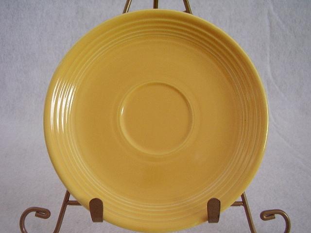 Vintage Fiestaware Yellow Teacup Saucer Fiesta  C