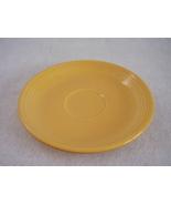 Vintage Fiestaware Yellow Teacup Saucer Fiesta  A - $5.60