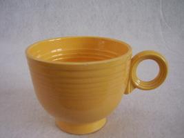 Vintage Fiestaware Yellow Ring Handle Teacup Fiesta C - $17.82