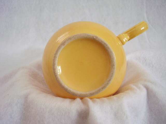 Vintage Fiestaware Yellow Ring Handle Teacup Fiesta C