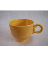 Vintage Fiestaware Yellow Ring Handle Teacup Fiesta B - $26.73