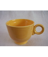 Vintage Fiestaware Yellow Ring Handle Teacup Fiesta A - $26.73