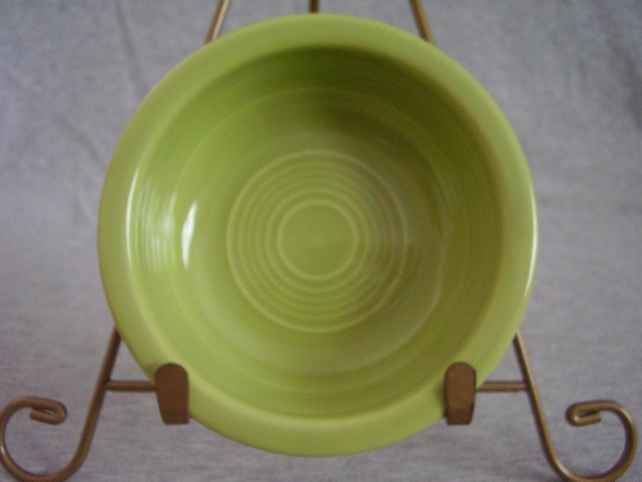 Vintage Fiestaware Chartreuse Fruit Bowl Fiesta