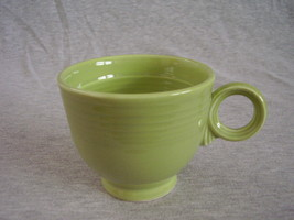 Vintage Fiestaware Chartreuse Ring Handle Teacup  Fiesta  B - $36.45