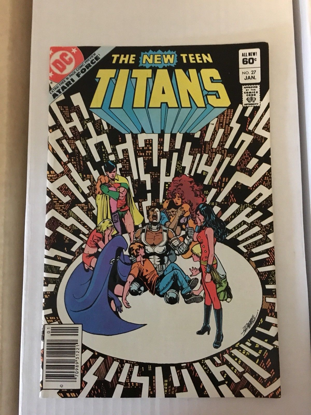 The New Teen Titans 27 28 31 1983 VF Condition DC Comic Book Lot 3 George Perez