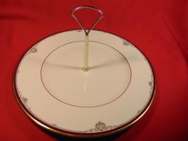 "10 3/4"", Round Serving Plate w/ Handle, Royal Doulton, Cambridge H-5107 ... - $19.99"