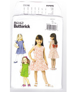 Pattern Butterick 6162 Girls Size 2 3 4 5 Dress, 2015 - $3.99