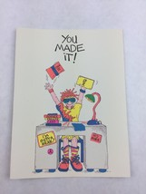 Vintage Graduation Card American Heart Beats Funny New Made in USA 1991 - $9.90