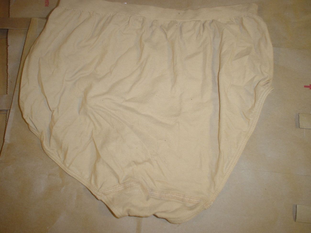 Jockey Seamfree Panty 7/Large Nude SP-Slightly Imperfect Lot of 2 NWOT